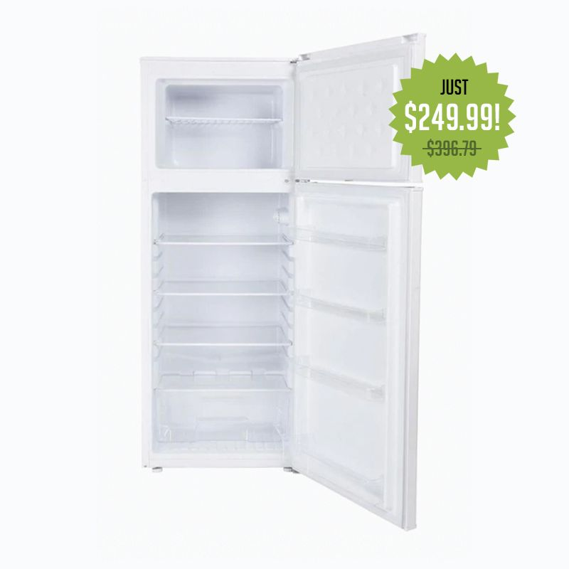 Danby 7.3-cu ft Built-In Top-Freezer Refrigerator (White, ENERGY STAR)