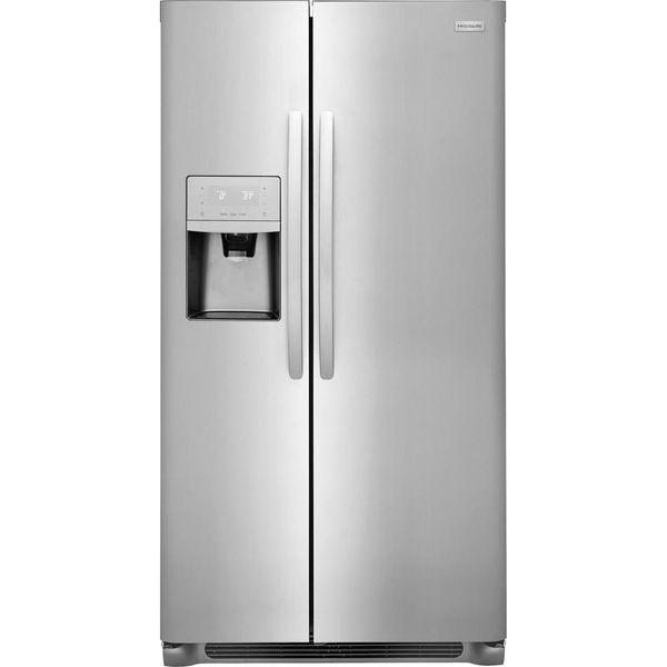 Frigidaire 22.2 cu. ft. Side by Side Refrigerator in Stainless Steel - $803