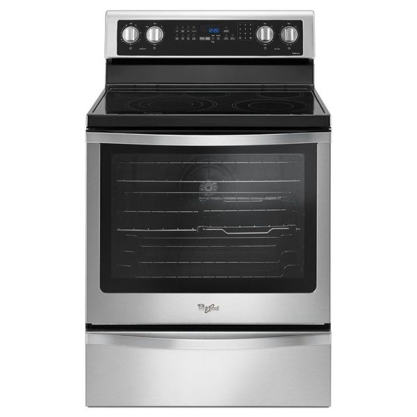 5-Element 6.4-cu ft Self-cleaning Convection Electric Range - $568.83