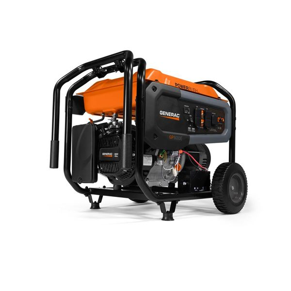 Generac 8000 watts Electric Start Portable Generator with Power Rush Technology - $726.75