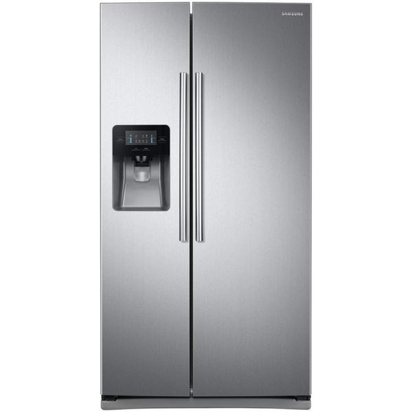 Samsung 24.52-cu ft Side-by-Side Refrigerator with Ice Maker - $702