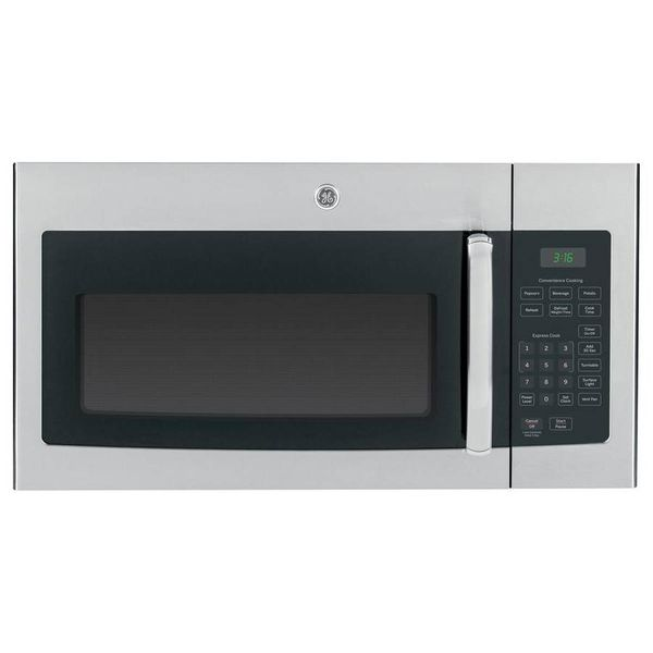 GE 1.6 cu. ft. Over the Range Microwave Oven in Stainless Steel - $144