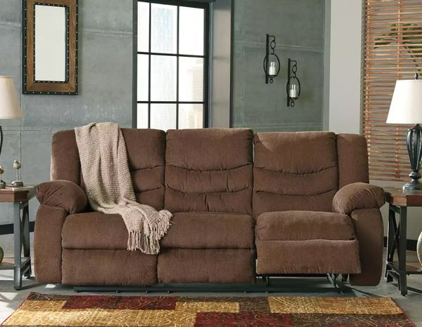 Ashley Furniture Tulen Reclining Sofa - $469