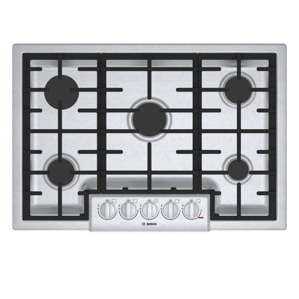 Bosch 800 5-Burner Gas Cooktop (Stainless steel) - $206