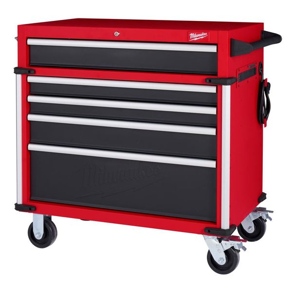 Milwaukee High Capacity 36 in. 5-Drawer Roller Cabinet Tool Chest - $449