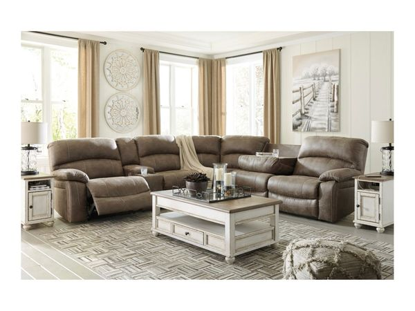 Benchcraft by Ashley Segburg Casual 4-Piece Power Reclining Sectional - $1699
