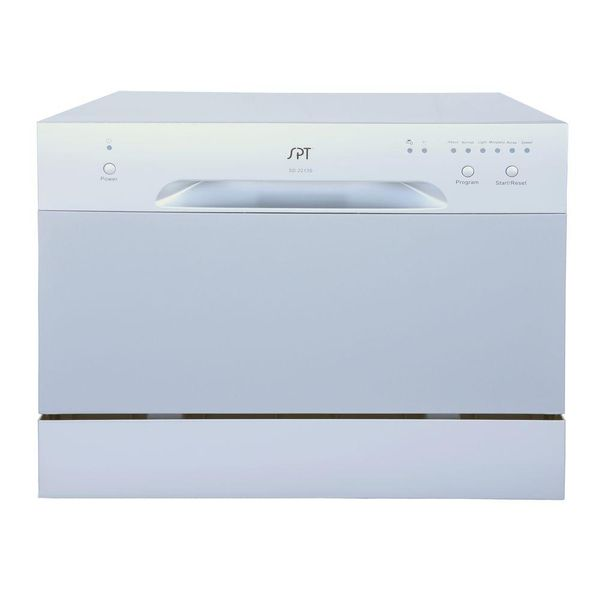 Countertop Dishwasher in Silver with 6 Place Settings Capacity - $166