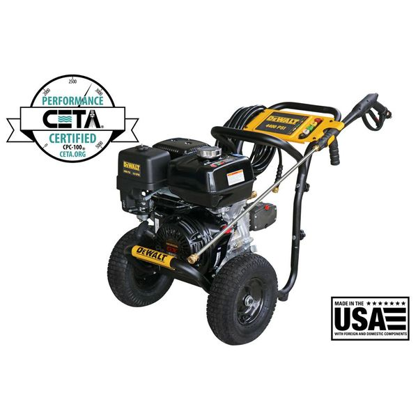 Dewalt 4400 PSI at 4.0 GPM Gas Pressure Washer - $499