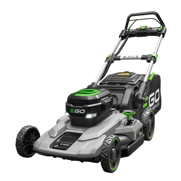 21 in. 56-Volt Lithium-Ion Cordless Battery Self Propelled Mower - $321