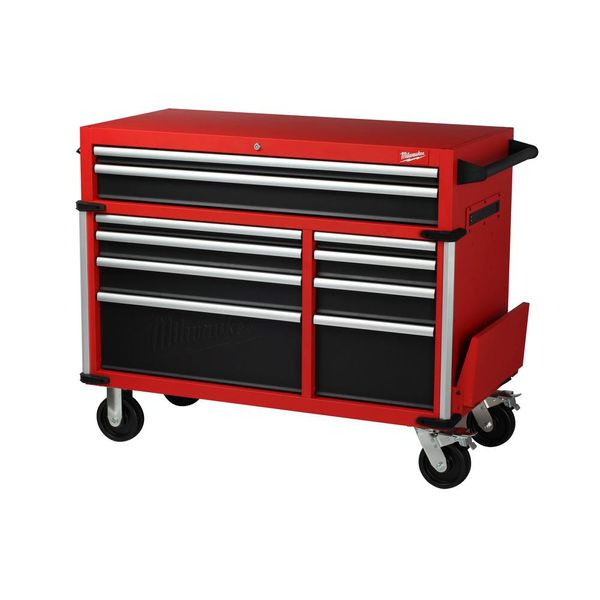 Milwaukee 46 in. 10-Drawer Roller Cabinet Tool Chest - $486
