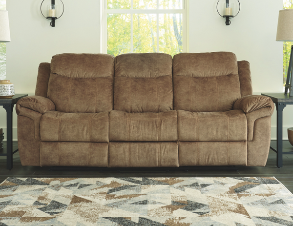 Huddle-Up Reclining Sofa with Drop Down Table - $699