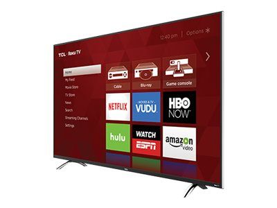 "TCL 55UP130 55"" Class (54.6"" viewable) P Series LED Smart TV - $499"