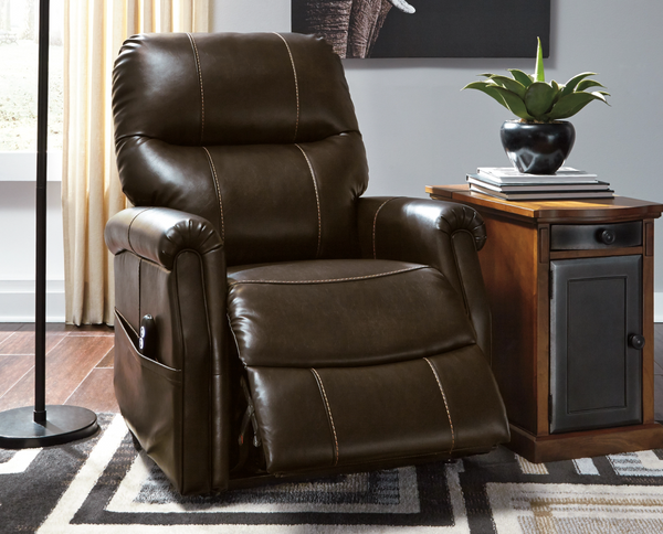 Signature Design by Ashley Markridge Power Lift Recliner - $599