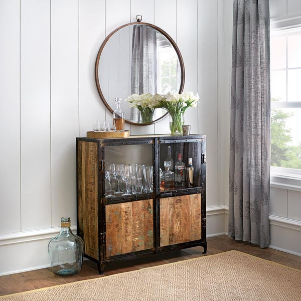 Home Decorators Collection Manchester Natural Buffet - $343