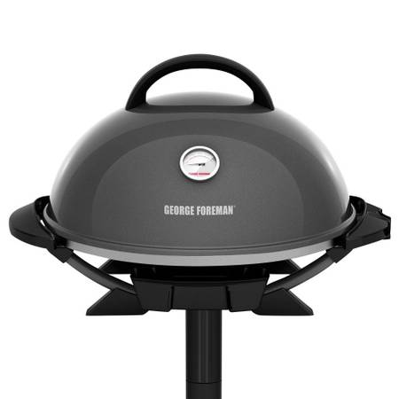 George Foreman I/O Electric Grill in Gun Metal - $51
