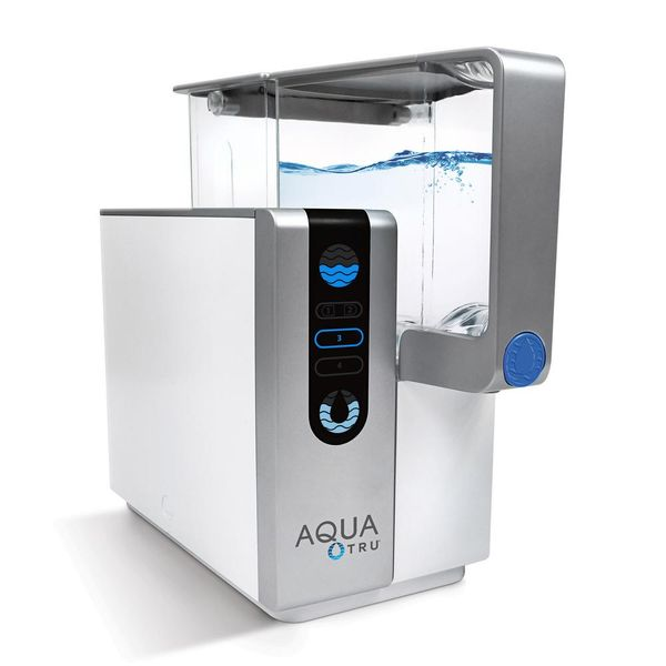 AquaTru Reverse Osmosis Counter Top Water Filtration System - $213