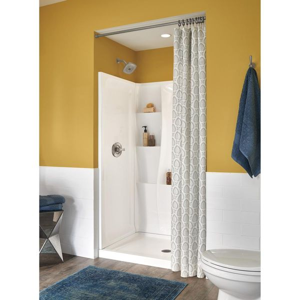Delta Classic 400 34 in. x 48 in. x 77 in. Shower Kit in White - $264