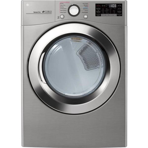 LG 7.4-cu ft Stackable Gas Dryer (Graphite Steel) - $899