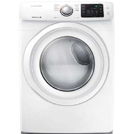 Samsung 7.5-cu ft Stackable Gas Dryer (White) - $674