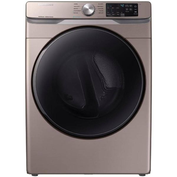 Samsung 7.5-cu ft Stackable Electric Dryer (Champagne) - $602
