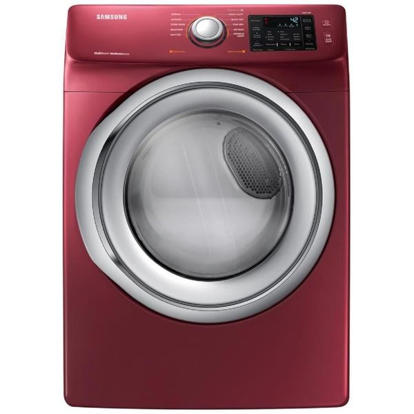 Samsung 7.5-cu ft Stackable Gas Dryer (Merlot) - $741