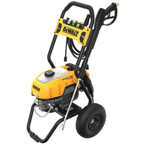 Dewalt 2400 PSI 1.1 GPM Cold Water Electric Pressure Washer - $224