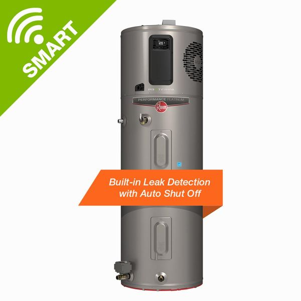 Rheem 80 Gal. Hybrid High Efficiency Smart Tank Water Heater - $1,215