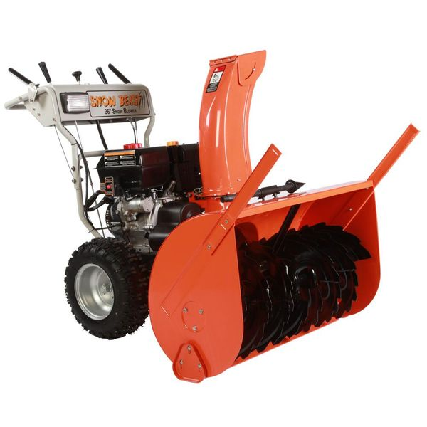 36 in. Commercial 420 cc Electric Start 2-Stage Gas Snow Blower - $1,724