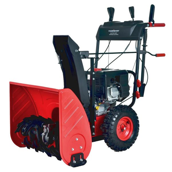 Powersmart 24 in. 212 cc 2-Stage Electric Start Gas Snow Blower - $374