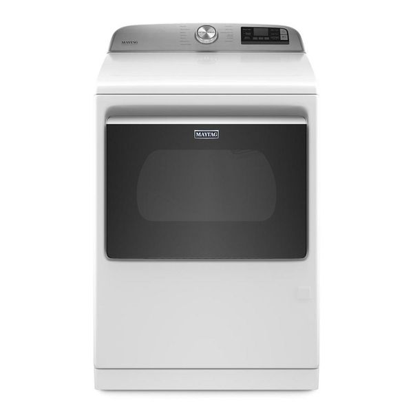 Maytag 7.4 cu. ft. 120-Volt Smart Capable White Gas Vented Dryer - $824