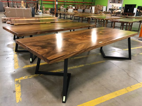 Live Edge Furniture - Dining Tables, Coffee Tables, Vanities & More!