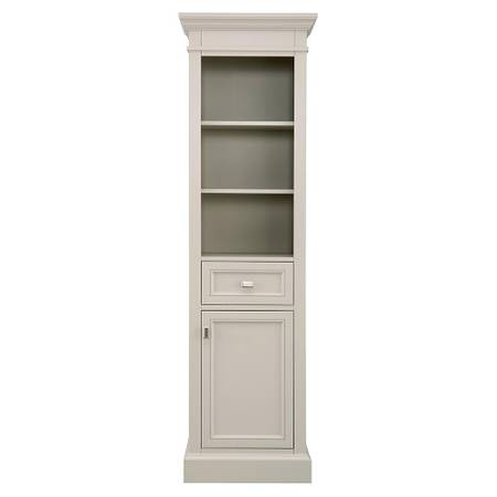 Braylee 20 in. W x 68 in. H Linen Cabinet in Rainy Day - $288
