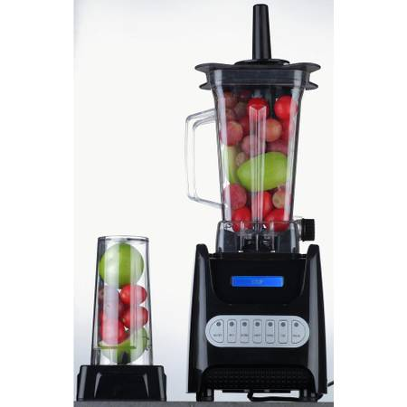 Ovente 13.5 oz. 1000-Watt Black Robust Professional Blender - $45