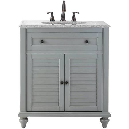 Hamilton 31 in. W x 22 in. D Bath Vanity in Grey - $454