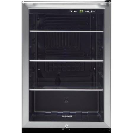 Frigidaire 22 in. 138 (12 oz.) Can Cooler in Stainless Steel - $249