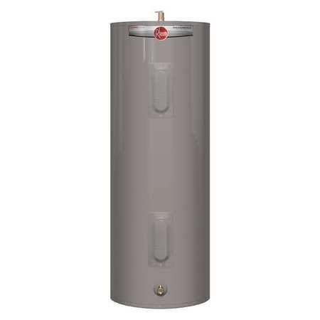 Rheem 40 gal., Residential Electric Water Heater, 240 VAC, 1 Phase - $373