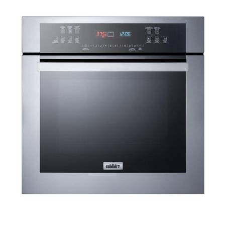 Summit Appliance 24 in. Single Electric Wall Oven in Stainless Steel - $555