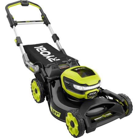 Ryobi 21 in. SMART TREK Self-Propelled Walk Behind Mower - $449
